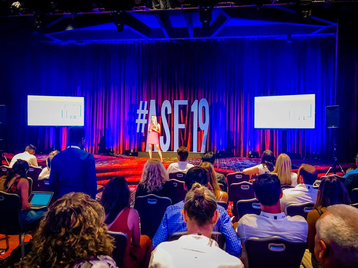 Wickfire COO Katy Atlas speaks at Affiliate Summit East 2019