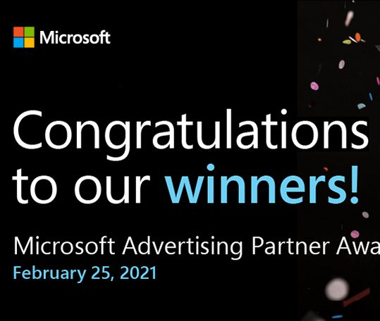 Wickfire Named Microsoft's 2021 Rising Star of the Year Runner Up!